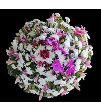 Coroa Luxo de Orquídea